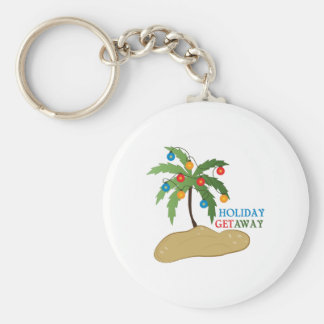 Holiday Get Away Keychain