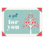 Holiday Gift Certificate Business Cardi Large Business Cards (Pack Of 100)