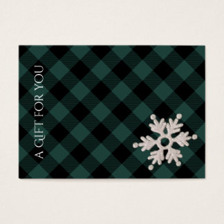 Holiday Gift Certificates | Winter Snowflake