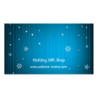 Holiday Gift Shop Card Business Card