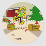 Holiday Gift Stickers