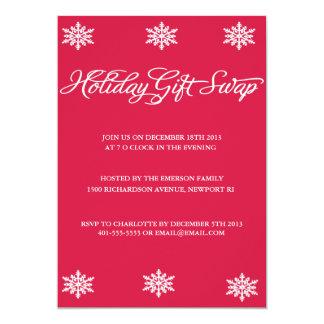 Holiday Gift Swap Invitation