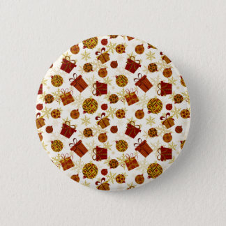 Holiday Gifts & Christmas Ornaments Pinback Button