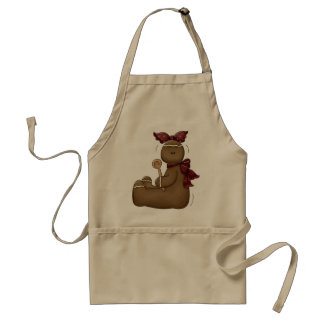 Holiday Gingerbread Apron