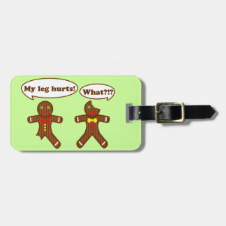 Holiday Gingerbread Humor Bag Tag
