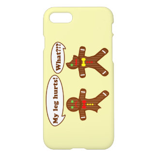 Holiday Gingerbread Humor iPhone 7 Case