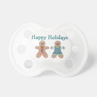 Holiday Gingerbread Pacifier