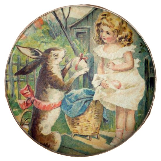 Holiday Girl & Vintage Easter Bunny Cookies