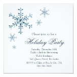 Holiday Glamour Party Invitation (white)