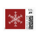 Holiday Glamour Red Stamp