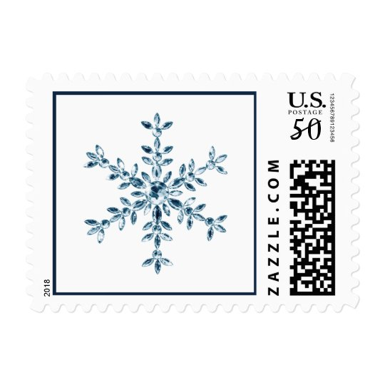 Holiday Glamour White Stamp