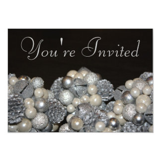 Holiday Glitter Invitation
