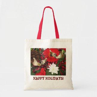 """Holiday Glow"" Budget Tote Bag"