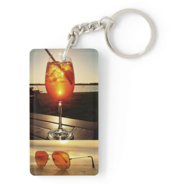 Beach Themed Holiday Glow Keychain