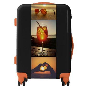 Beach Themed Holiday Glow Luggage