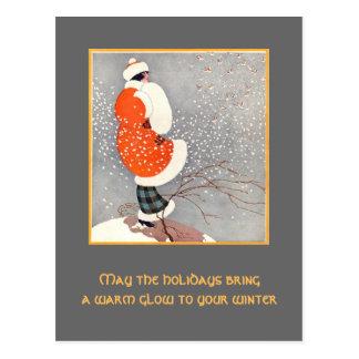 Holiday Glow Postcard
