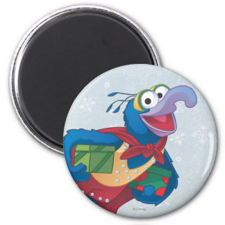 Holiday Gonzo 2 Inch Round Magnet