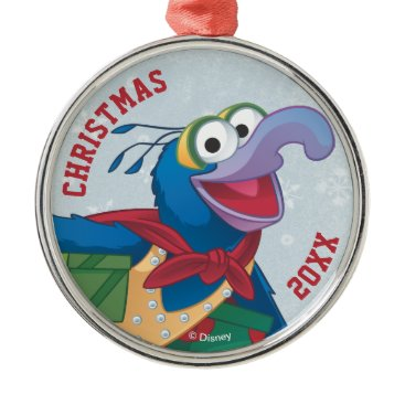 Disney Themed Holiday Gonzo Metal Ornament