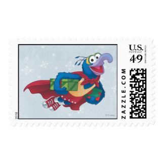 Holiday Gonzo Postage Stamp