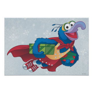 Holiday Gonzo Poster