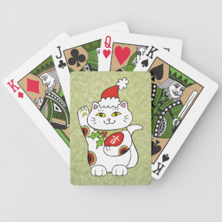 Holiday Good Luck Bicycle Playing Cards