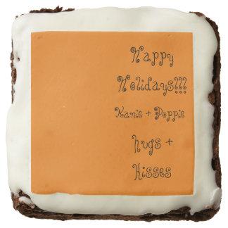 Holiday Goodies Brownie