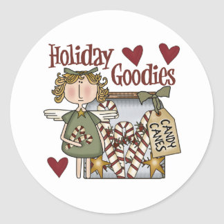 Holiday Goodies Christmas Stickers