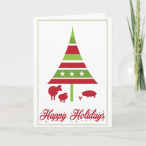 Holiday Greeting Card in support of CETFA