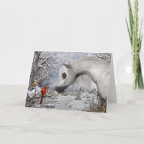 Holiday Greeting Card white envelopes included