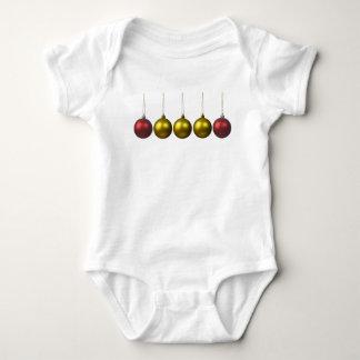 holiday greetings baby bodysuit