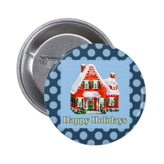 Holiday Greetings 2 Inch Round Button