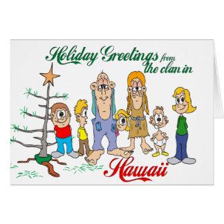 Holiday Greetings from Hawaii Card