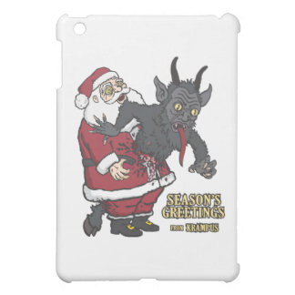 Holiday Greetings from Krampus (and Santa) iPad Mini Covers