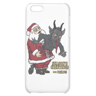 Holiday Greetings from Krampus (and Santa) iPhone 5C Cases