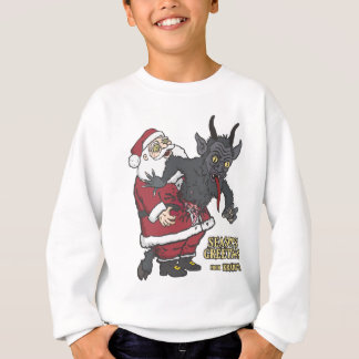 Holiday Greetings from Krampus (and Santa) Sweatshirt