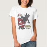 Holiday Greetings from Krampus (and Santa) T-shirts