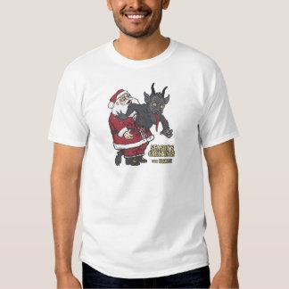 Holiday Greetings from Krampus (and Santa) Tee Shirt