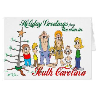 Holiday Greetings from South Carolina Card