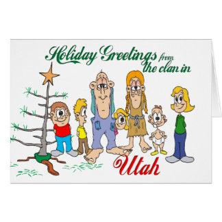 Holiday Greetings from Utah Card