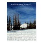 Holiday Greetings from Utah! Postcards