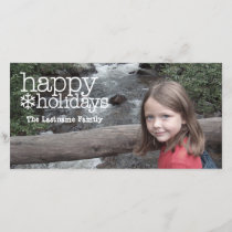 Holiday Greetings - Full Photo