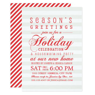 Housewarming cocktail party invitations announcements zazzle holiday greetings housewarming party invite stopboris Choice Image