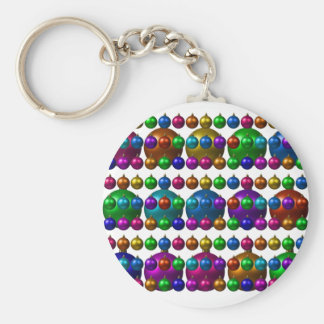 holiday greetings keychain
