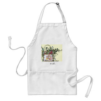 Holiday Greetings, Merry Christmas     to all.. Adult Apron