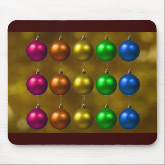 holiday greetings mouse pad