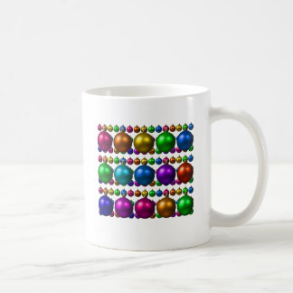 holiday greetings classic white coffee mug