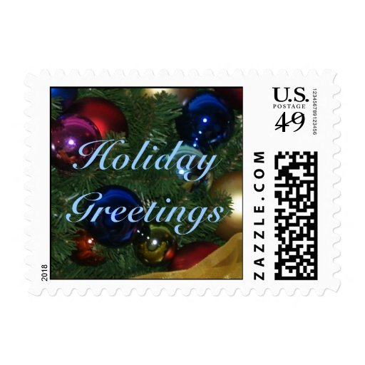 Holiday Greetings Postage