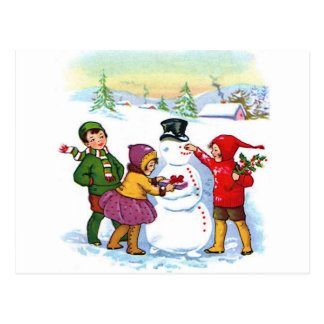 Holiday Greetings Post Card