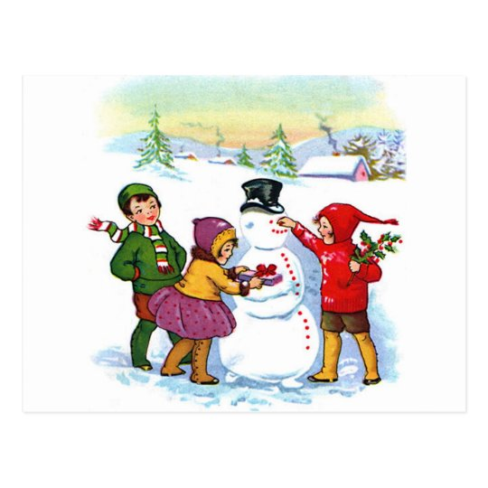 Holiday Greetings! Postcard