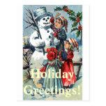 Holiday Greetings! Postcards